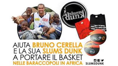 Portare il basket nelle baraccopoli in Africa